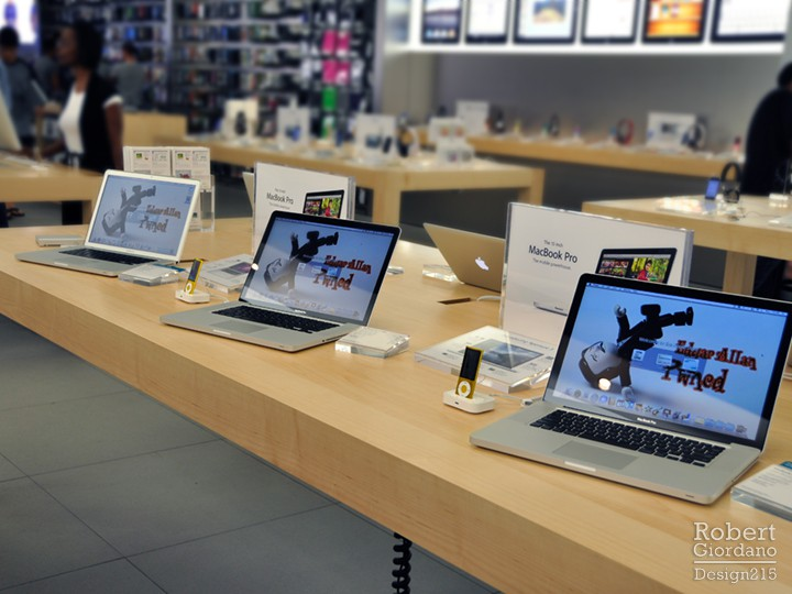 Apple Store gets Pwned
