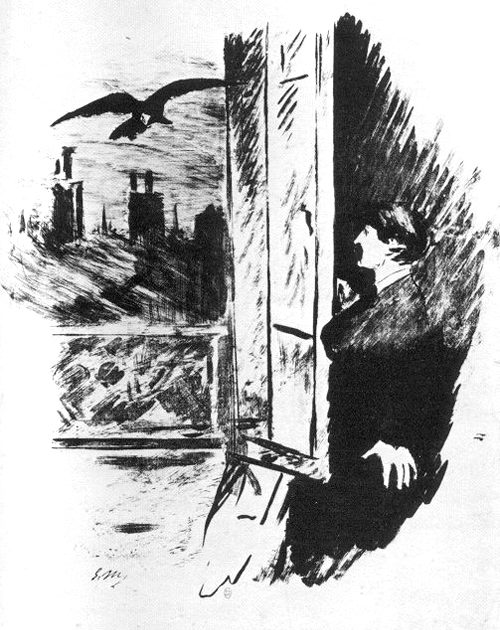 Illustration by Manet, no. 2