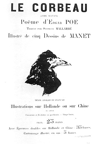 Poster by Manet