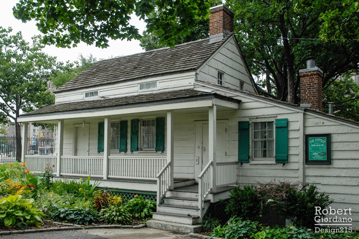 Poe Cottage in NYC, front