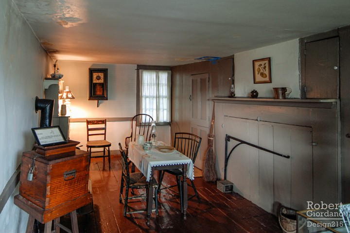 Poe Cottage in NYC, interior