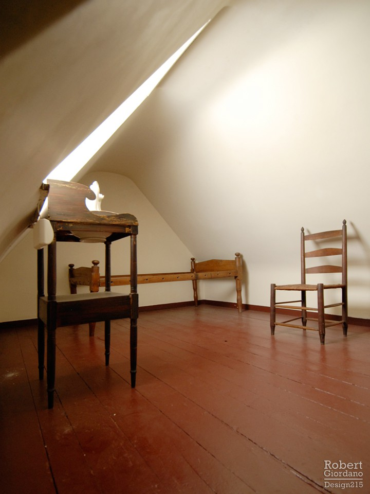 Attic bedroom, Poe House, Baltimore
