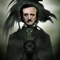 Edgar Allan Poe by Sam Shearon